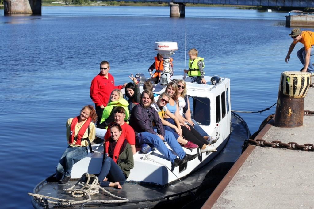 Sauga noortega Pärnu lahel