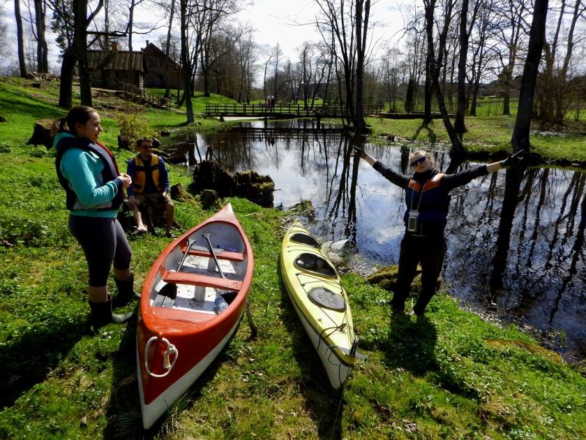 Süst ja kanuu laenutamiseks